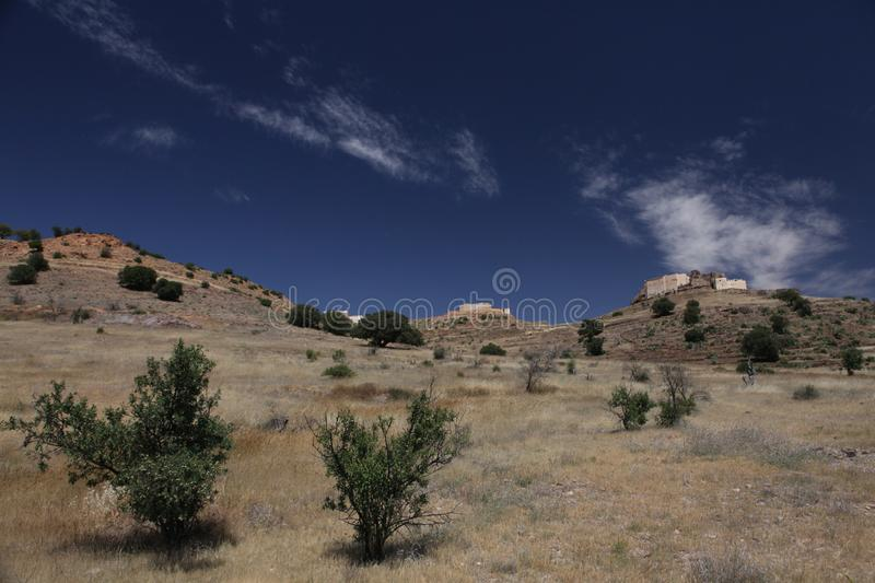 Download Old Hystorical Fort In Mountain Of Marocco Stock Photo - Image of footpath, fort: 14549366
