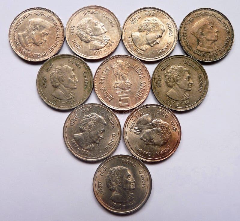 Old indian coin 5 rupees 9000 - Cdn coin good or bad man