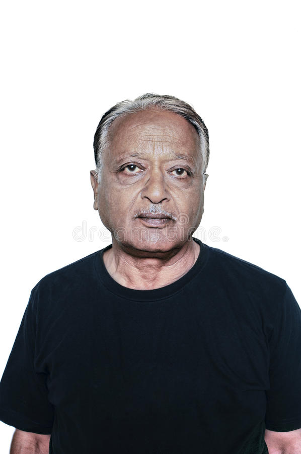 Old Indian Male royalty free stock images