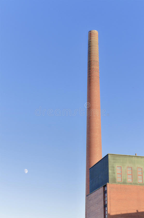 Free Old Industrial Brick Chimney Royalty Free Stock Images - 32187679