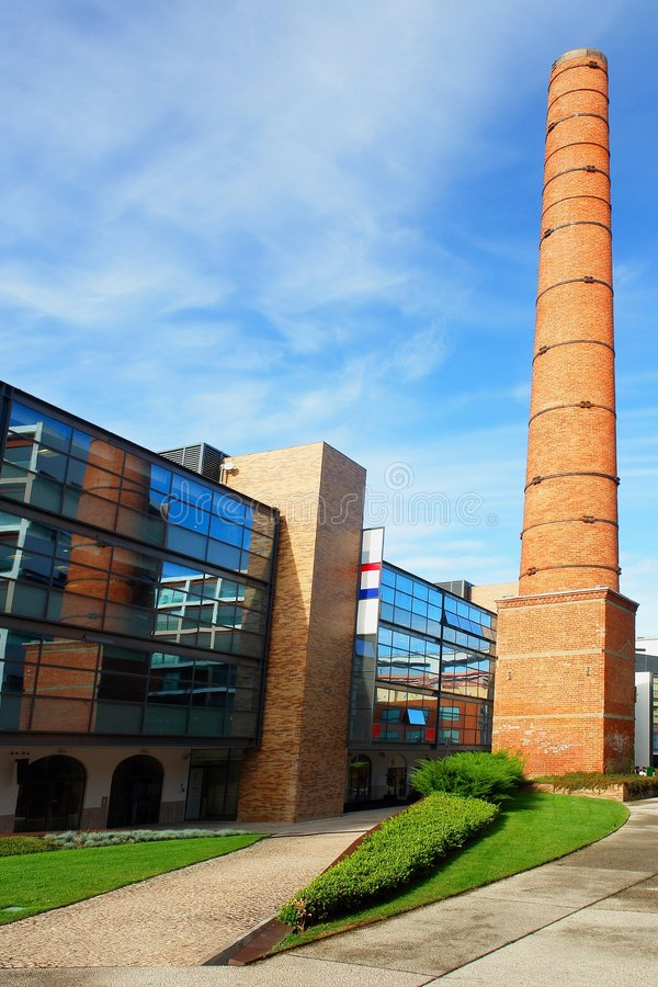 Free Old Industrial Chimney Stock Image - 1375221