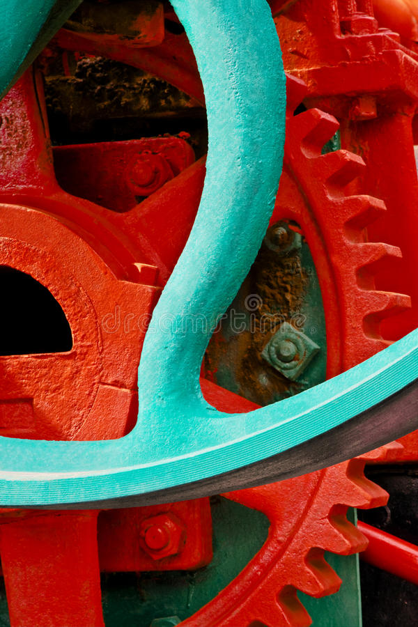 Download Old Industrial Machinery Sprocket Stock Image - Image of industrial, circular: 33267885