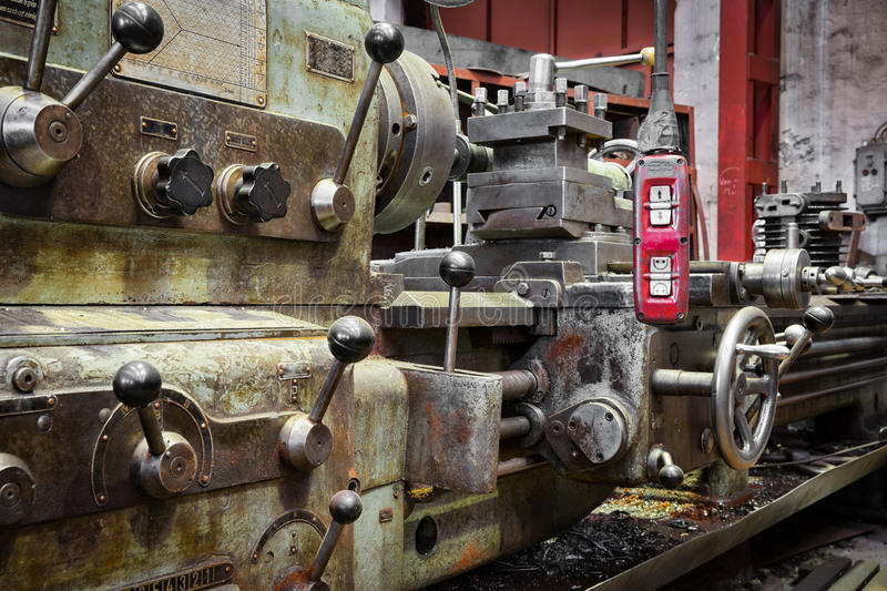 Old industrial too royalty free stock photography