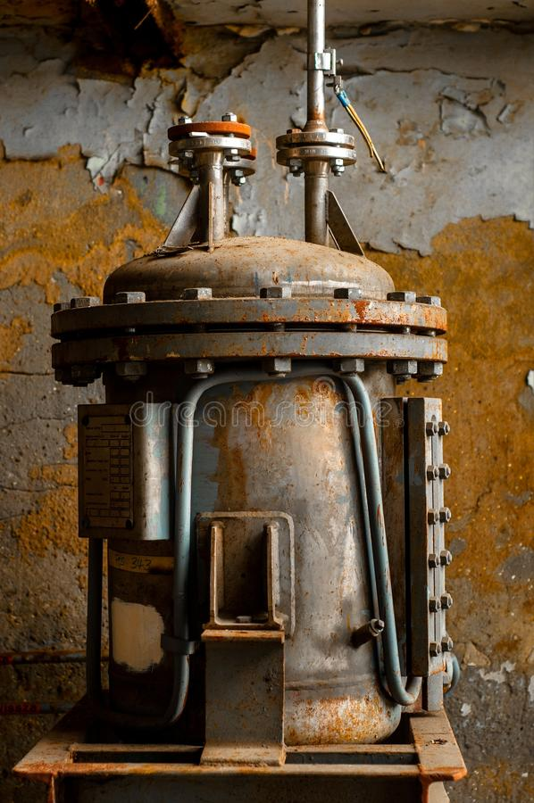 Download Old Industrial Water Supply Parts Stock Photo - Image: 30192758