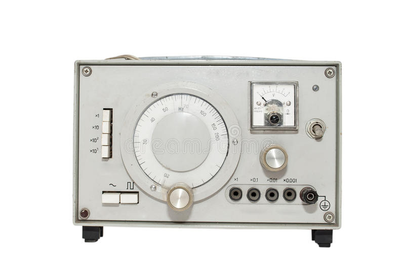Download Old Instrument For Measuring The Electric Current Stock Image - Image: 17884151