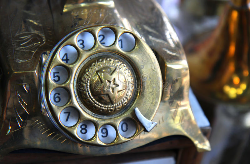 Download Old Iron Antique Telephone Royalty Free Stock Images - Image: 27646169