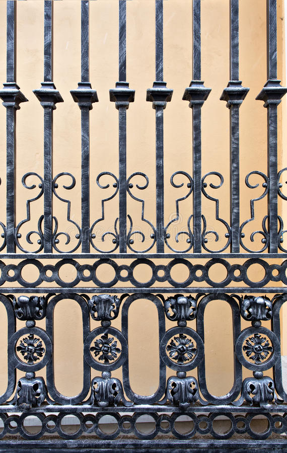 Download Old iron gate stock photo. Image of iron, detail, forged - 29472612