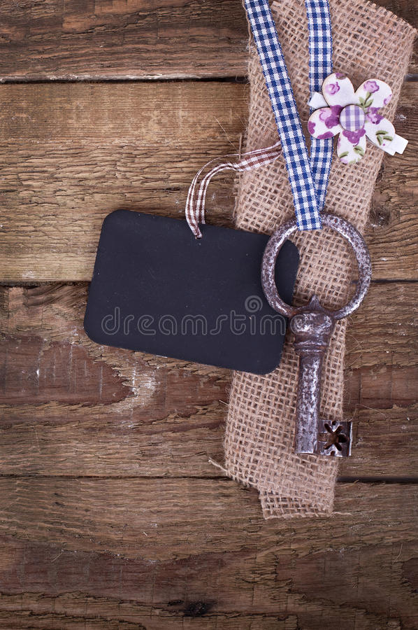 Free Old Iron Key Stock Photo - 27892210