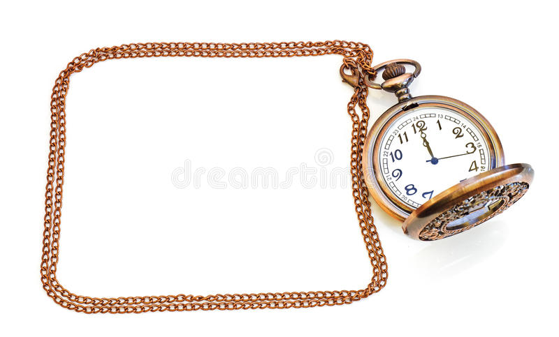 Old isolated watch royalty free stock images