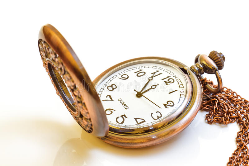 Old isolated watch royalty free stock photos