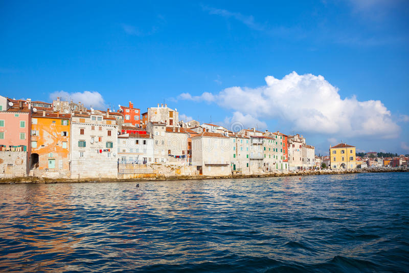 Old Istrian town stock photos