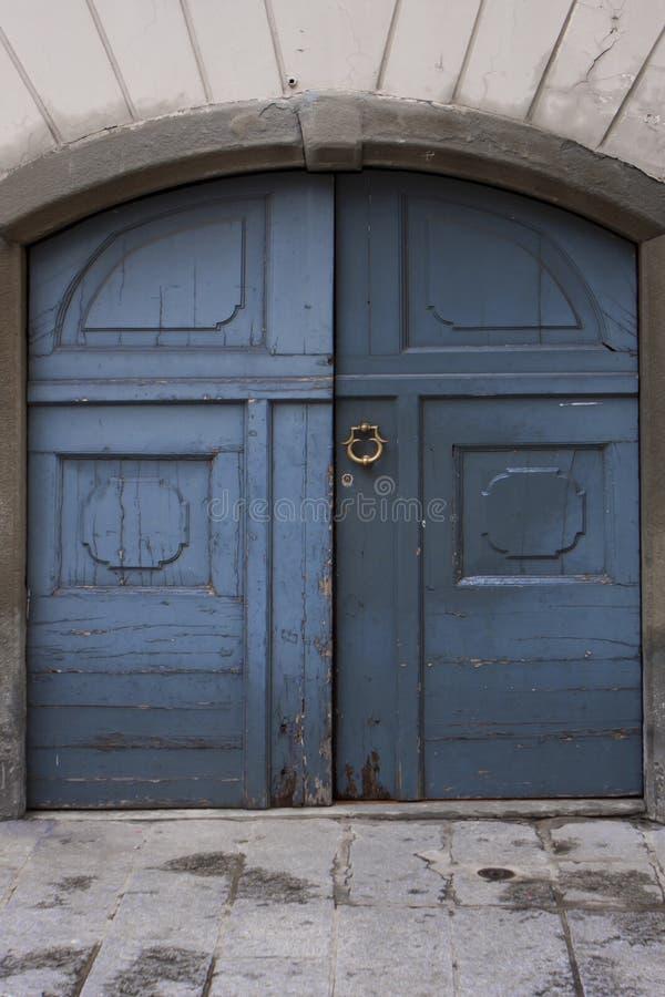 Old Italian door. stock photography