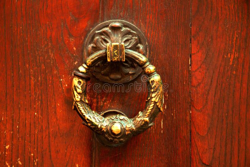 Download Old Italian Door Knocker Royalty Free Stock Photography - Image: 28276507