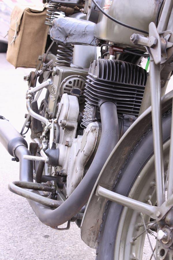 Old Italian Motorcycle Royalty Free Stock Photo