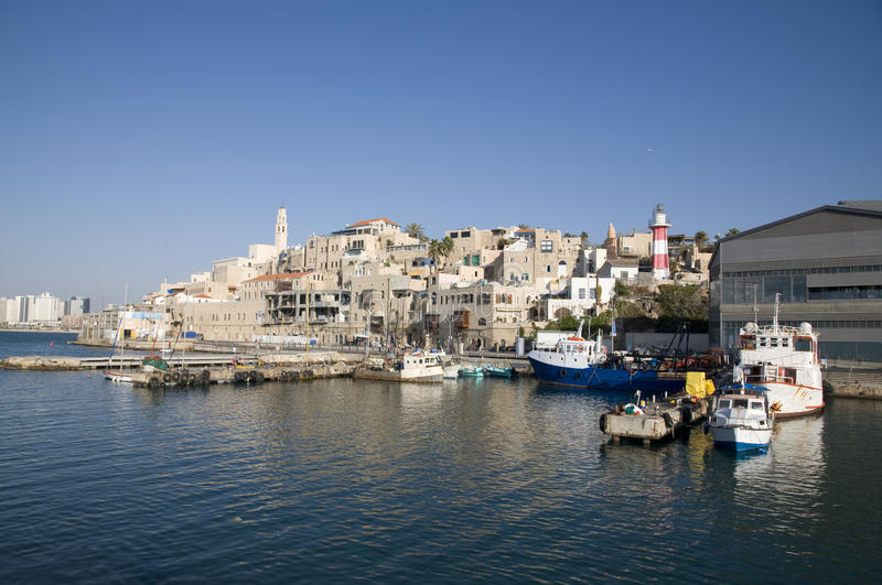Old Jaffa, Israel. View on Old Jaffa, Israel stock photo