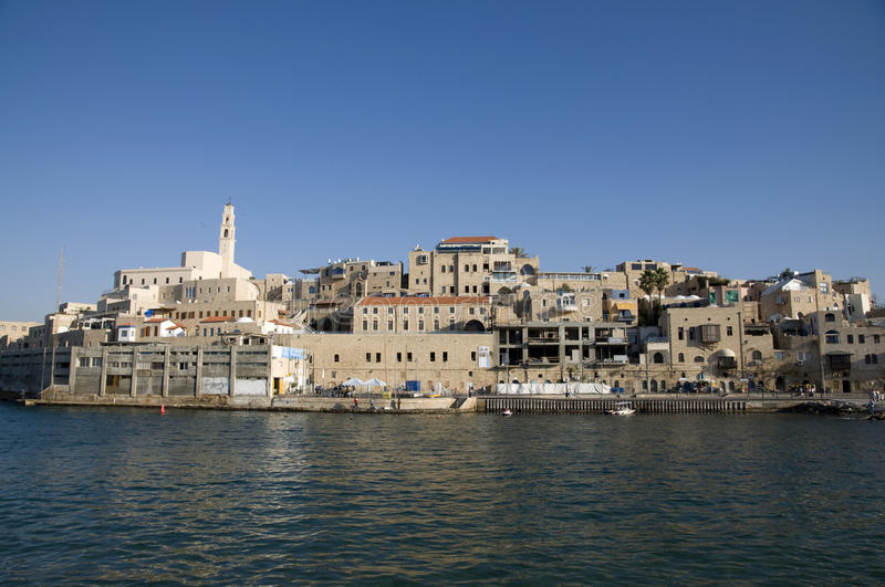 Old Jaffa, Israel. View on Old Jaffa, Israel royalty free stock images