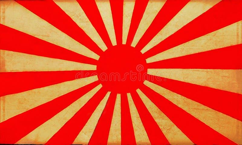 Old Japan flag background 2 stock photos