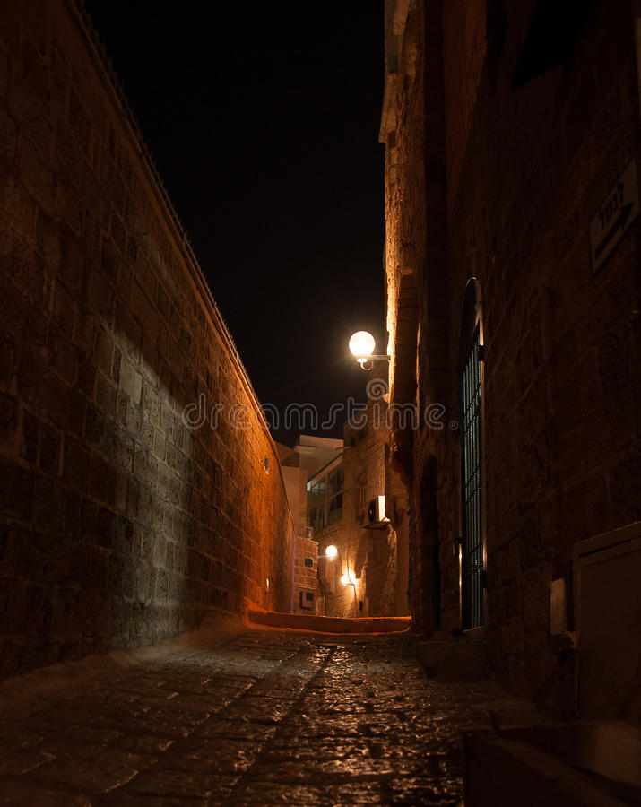 Old Java Streets stock images
