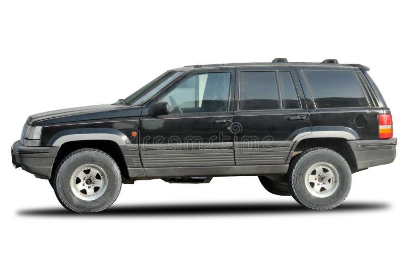 Old Jeep Cherokee 4x4 stock image