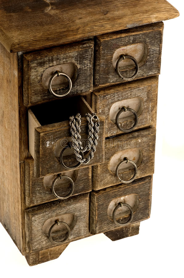 Free Old Jewelry Box Stock Photography - 22680982