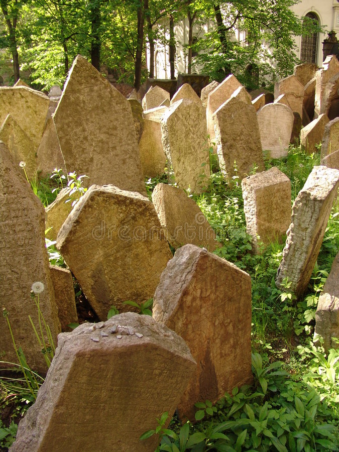 Free OLD JEWISH CEMETERY Stock Images - 8304354
