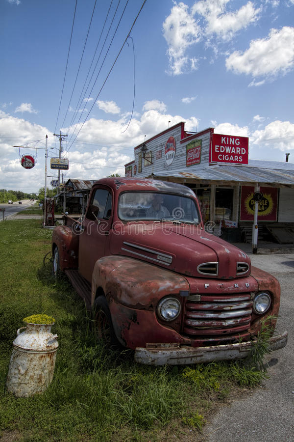 Old Junkyard Rusty Pickup Truck Editorial Photography - Image of ...
