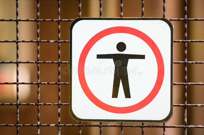 Download Keep out sign stock image. Image of enter, gesturing - 30266855