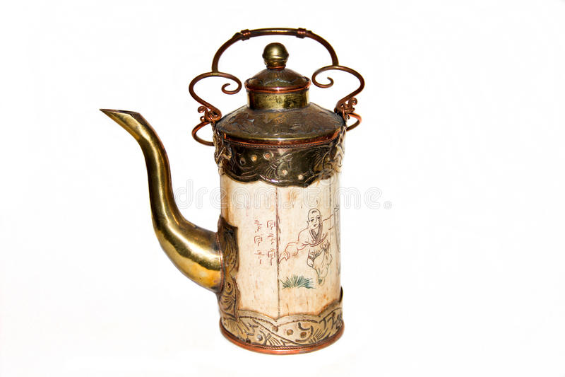 The old kettle royalty free stock photo