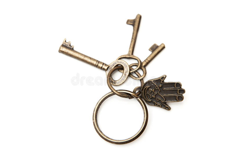 Download Old keys stock image. Image of llaves, close, white, antique - 33558565