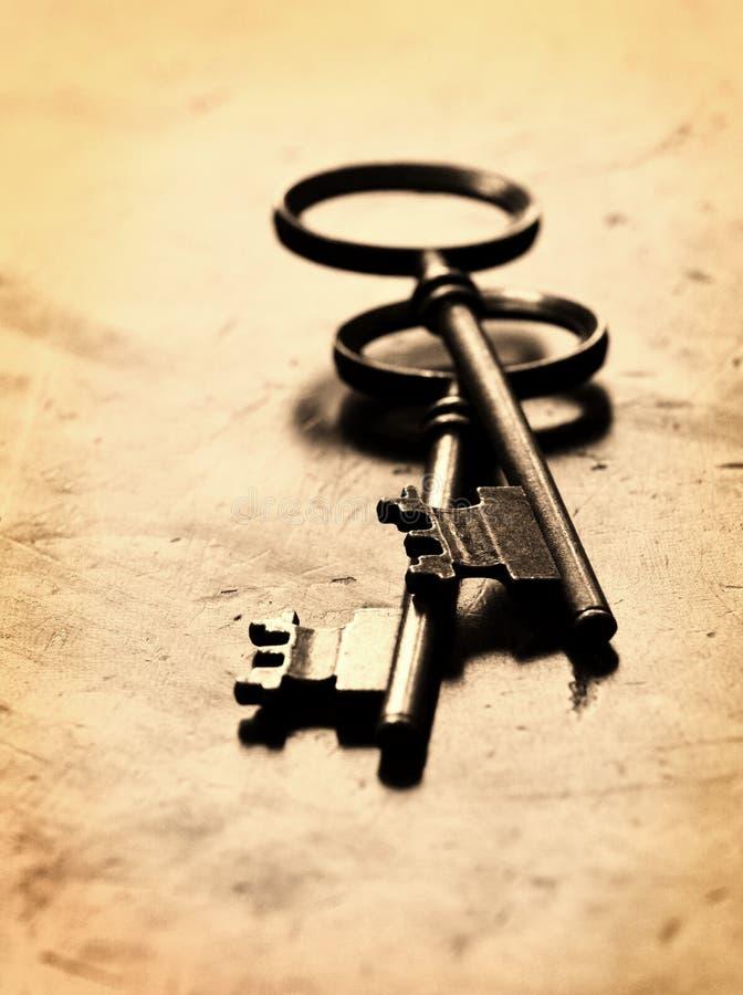 Download Old Keys on Worn Wood stock image. Image of rusty, rust - 36696953