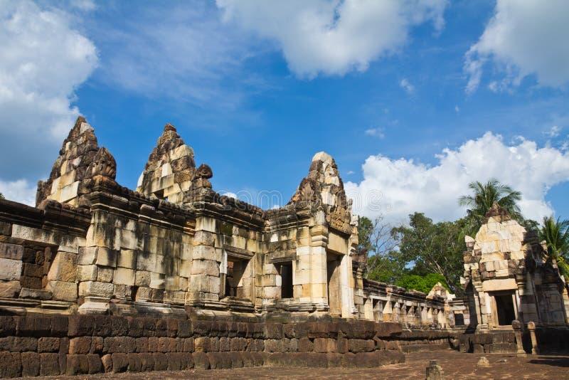 Old Khmer Art Sanctuary Stock Image