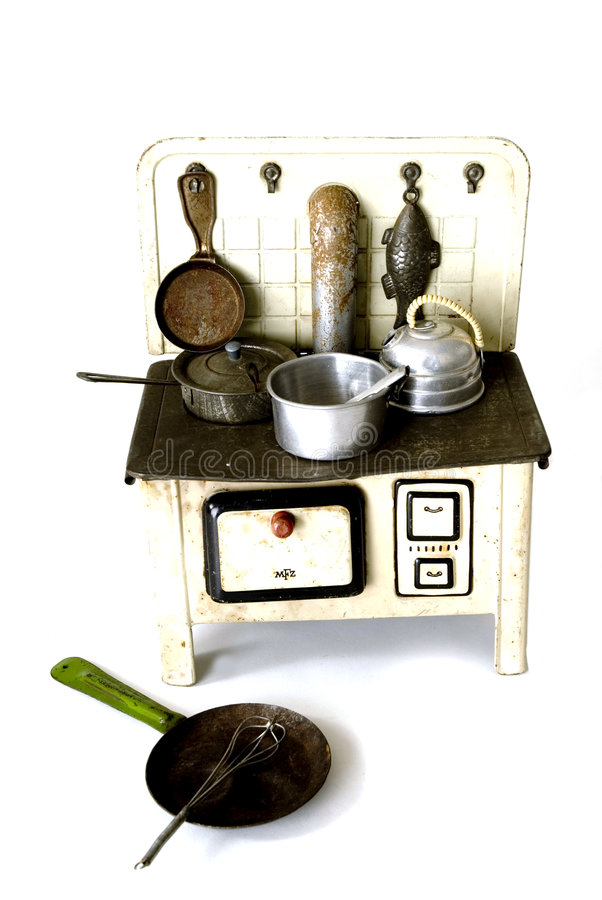 Old kitchen stock photography