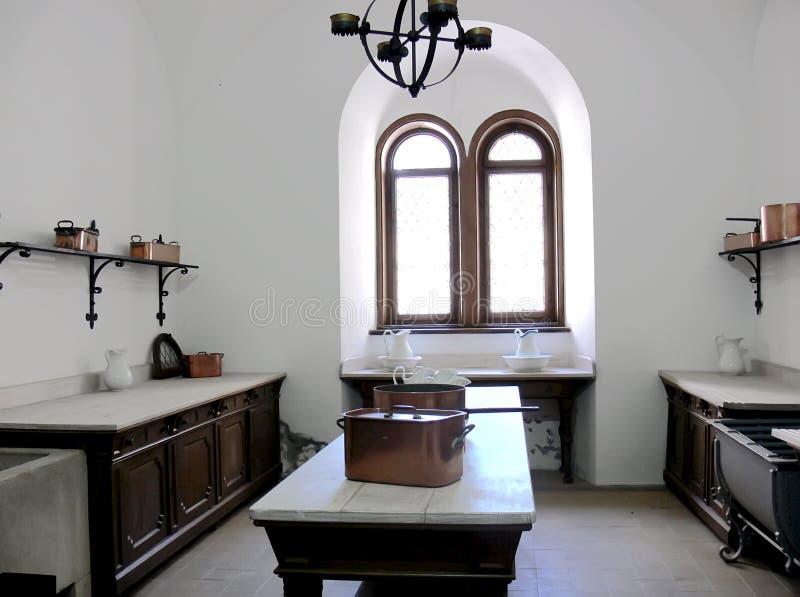 Old kitchen stock image