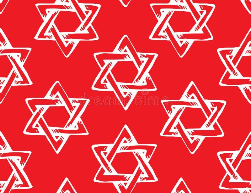 Jewish holiday symbol. Vector drawing stock illustration