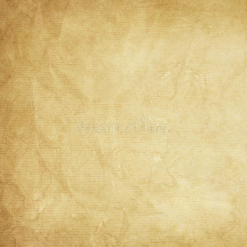 Old kraft paper texture stock photography