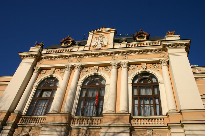 Download Old Kragujevac stock image. Image of architecture, sign - 17772029