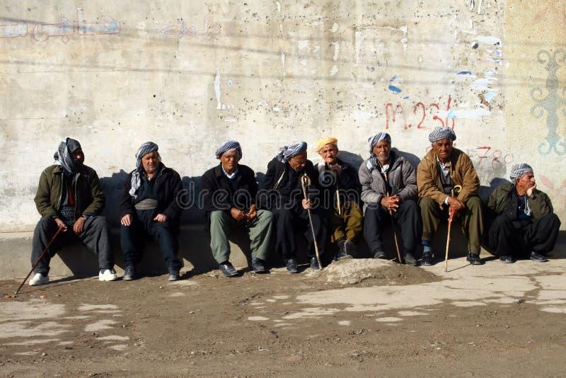 Old Kurdish Mans royalty free stock photo