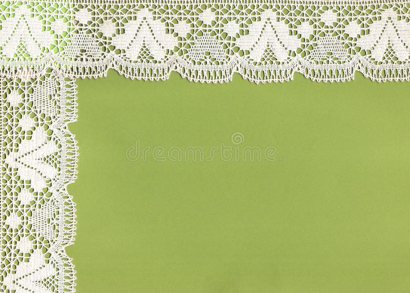 Old lace frame. stock photography
