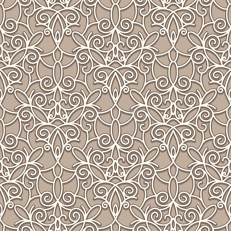 Download Old lace pattern stock vector. Illustration of crochet - 32099176