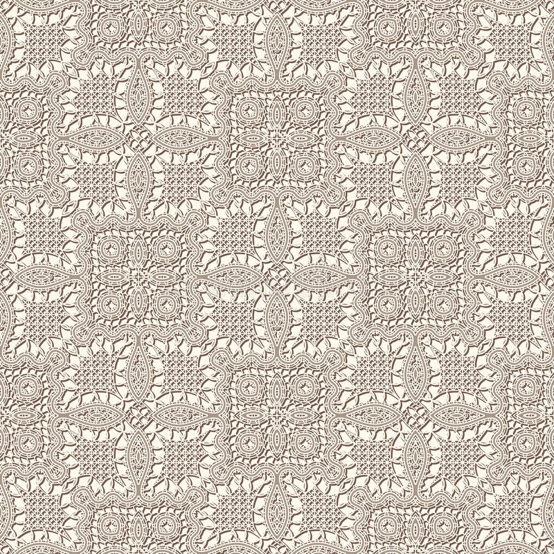 Old lace texture. Vintage background, seamless pattern royalty free illustration