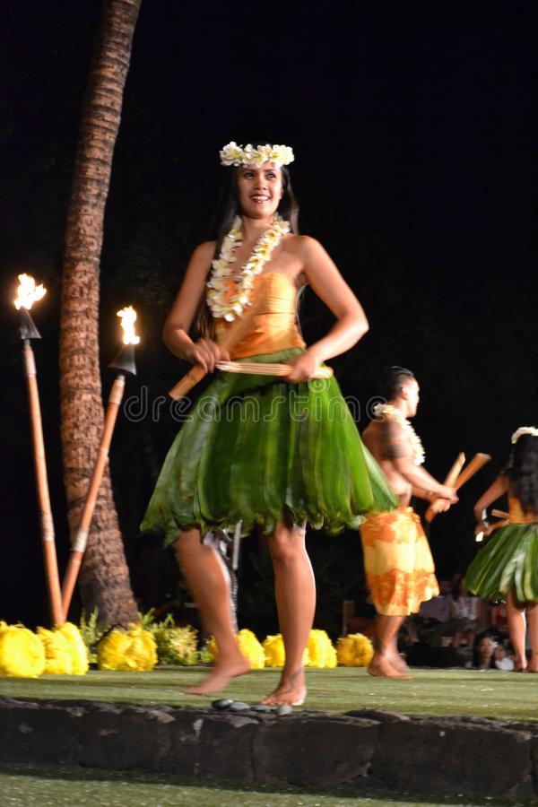 Old Lahaina Luau royalty free stock photos