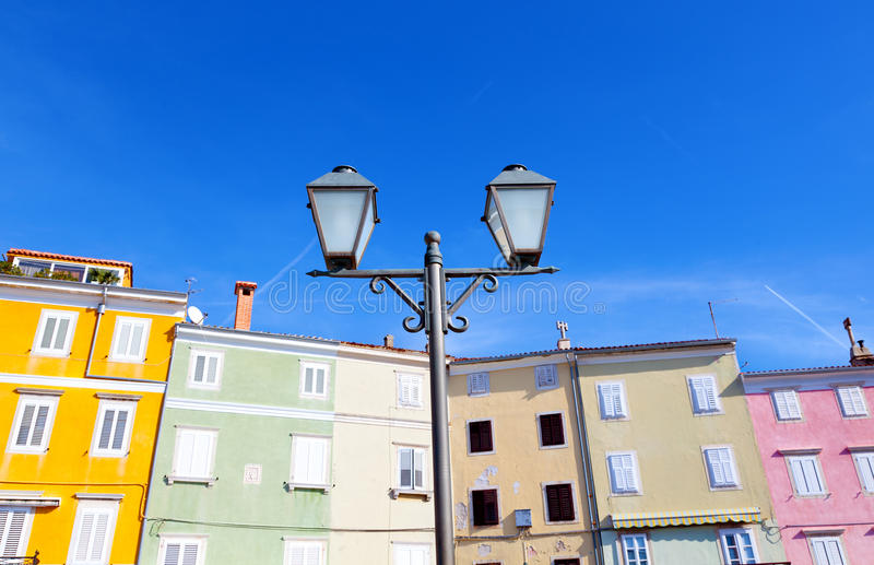Download Old lamp stock photo. Image of lamppost, classic, yellow - 24837470