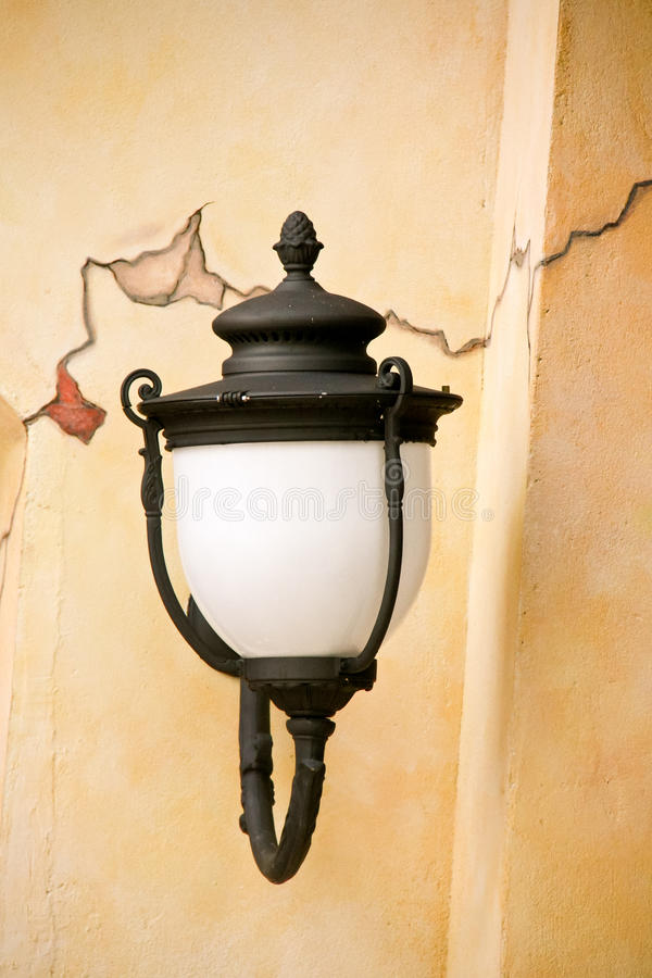Download Old Lamp Post stock photo. Image of exterior, aged, cracked - 19211106
