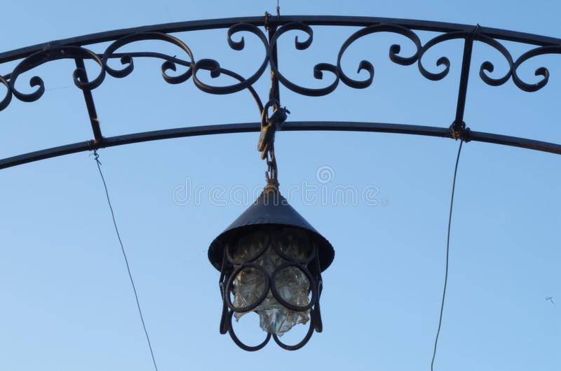 Old lantern. royalty free stock images