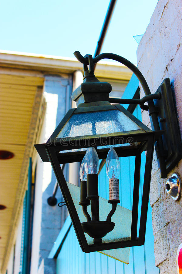 Old Lantern in New Orleans royalty free stock photos