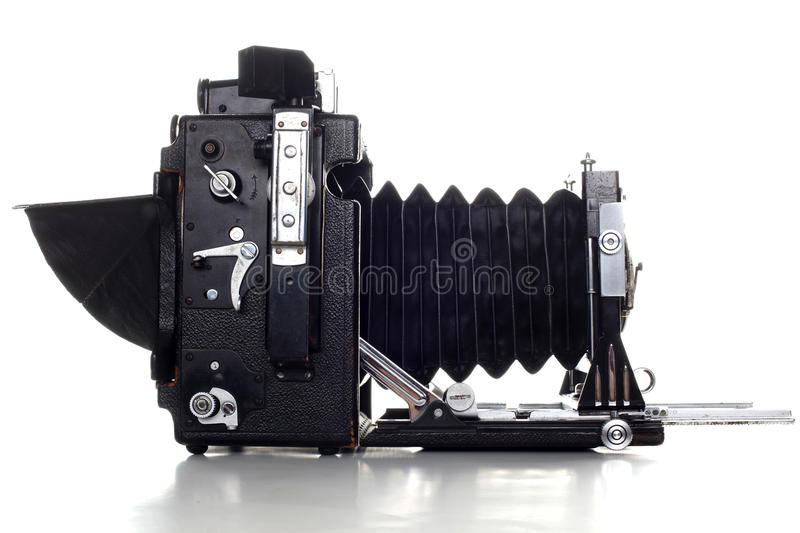 Old large format Press camera royalty free stock images
