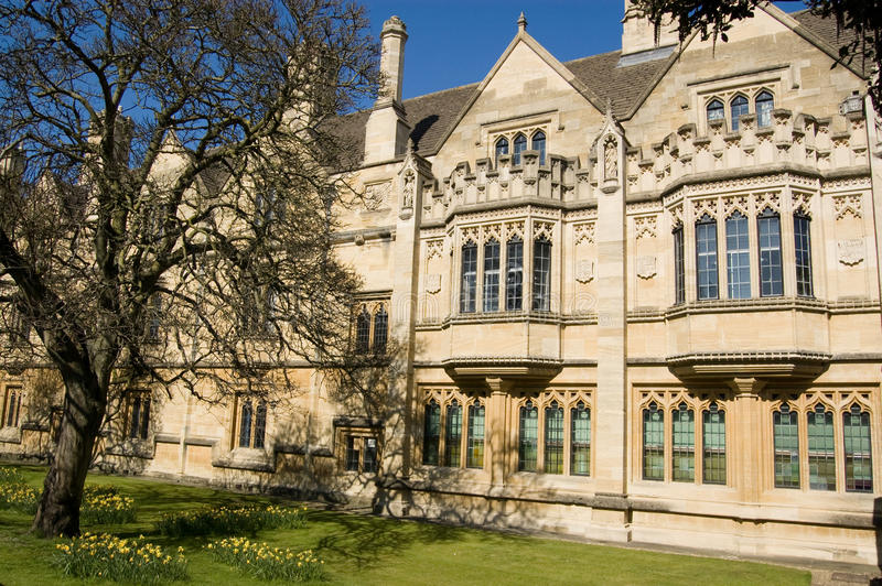 Old Law Library, Magdalen College, Oxford Royalty Free Stock Photo
