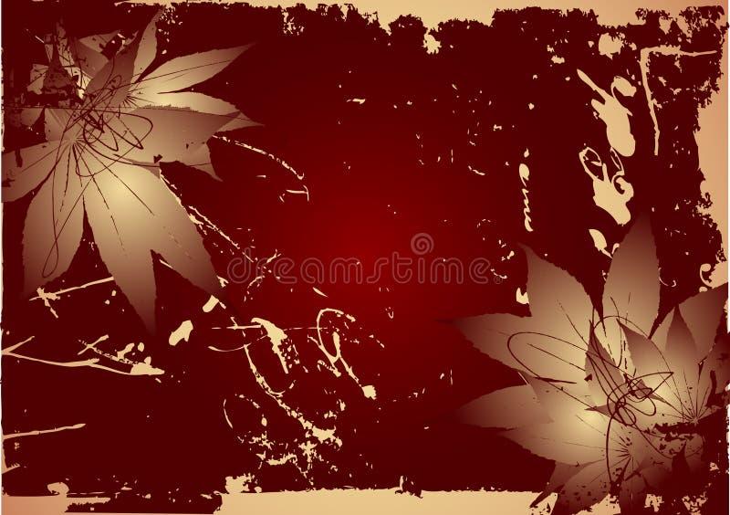 Download Old leaf vector stock vector. Image of background, battered - 3953789