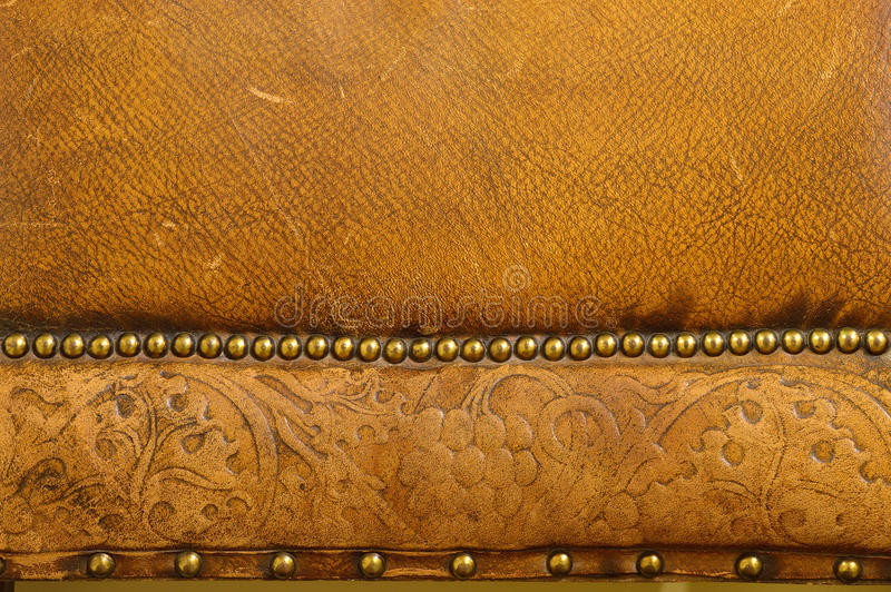 Download Old Leather Background stock photo. Image of background - 36273248
