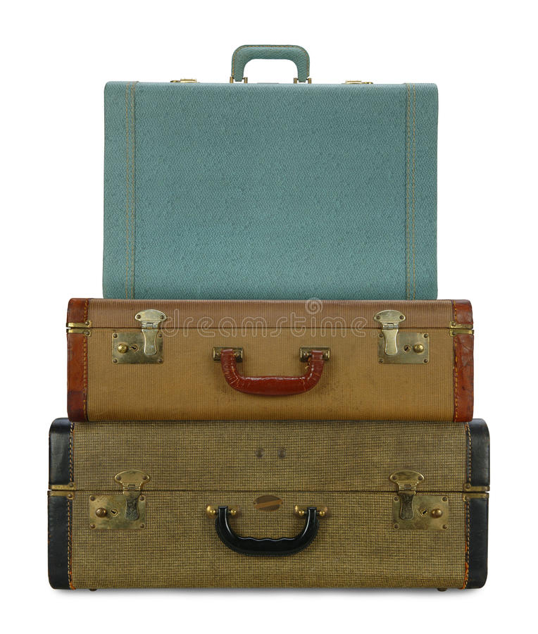 Download Old leather bags stock image. Image of handle, case, holiday - 10890389
